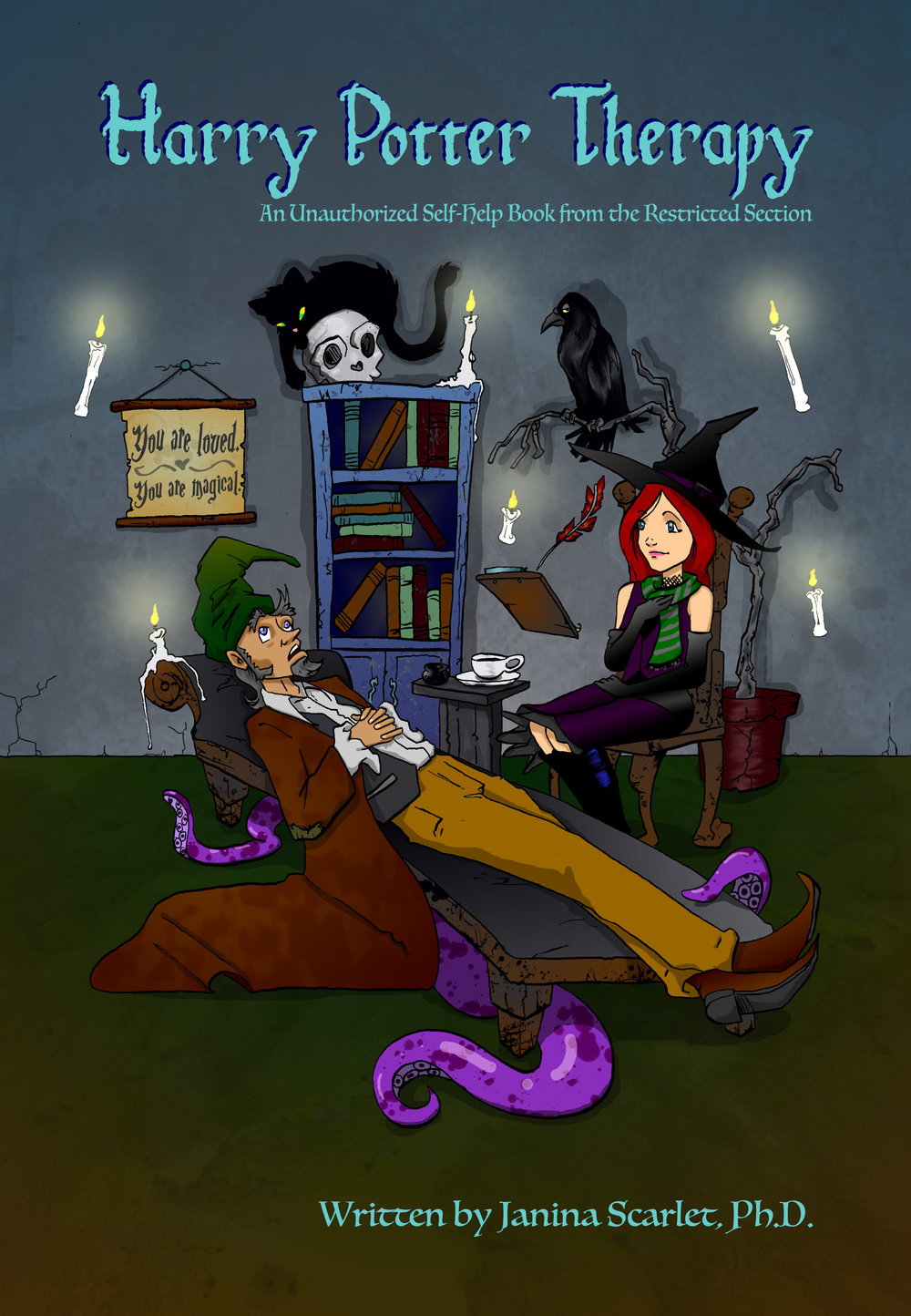 Harry Potter Therapy Cover.