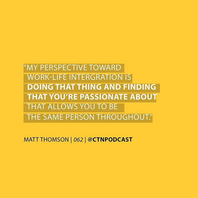 Easy question: What are you passionate about? Comment below! ⬇️ . . . . . . #Passion #P4G #Placemaking4G #MattThomson #HFX #Halifax #Podcast #CTN #ChangingtheNarrative #Motivation #LISTENNOW
