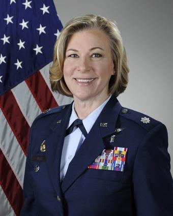 Melanie Ellis '81 Lt. Col., U.S. Air Force