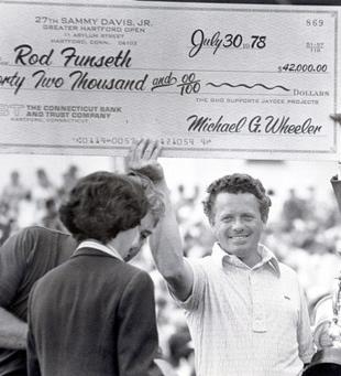 Rod Funseth '51 Pro Golfer