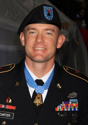 Ty Carter '98 Medal of Honor Recipient