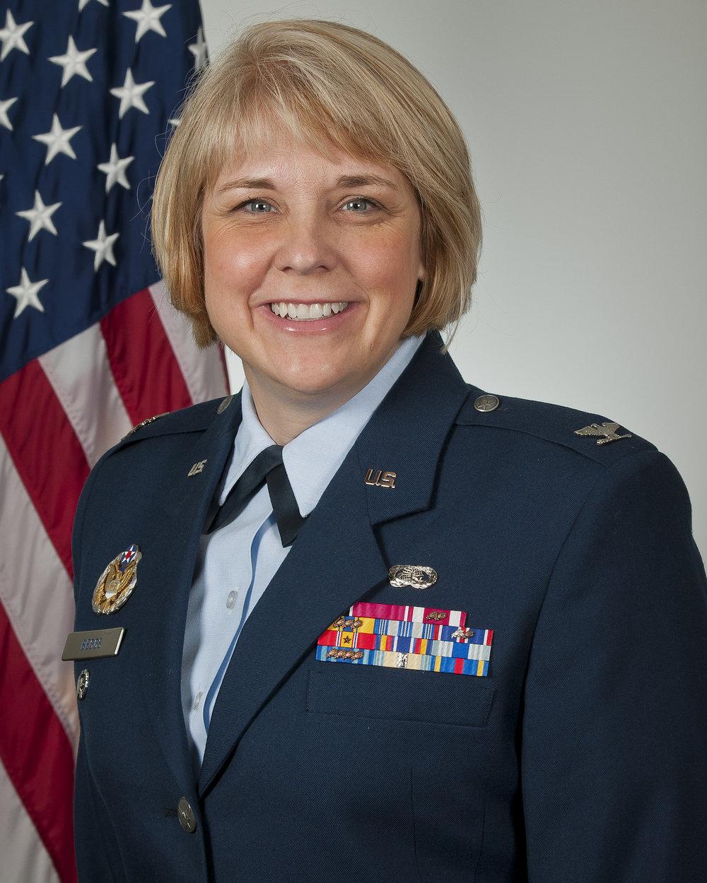 Malinda Begs '86 Col. U.S. Air Force