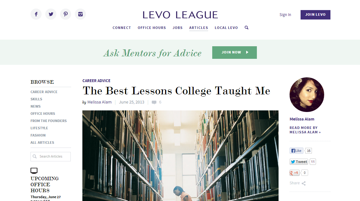 Levo League | Author | Ring The Alam