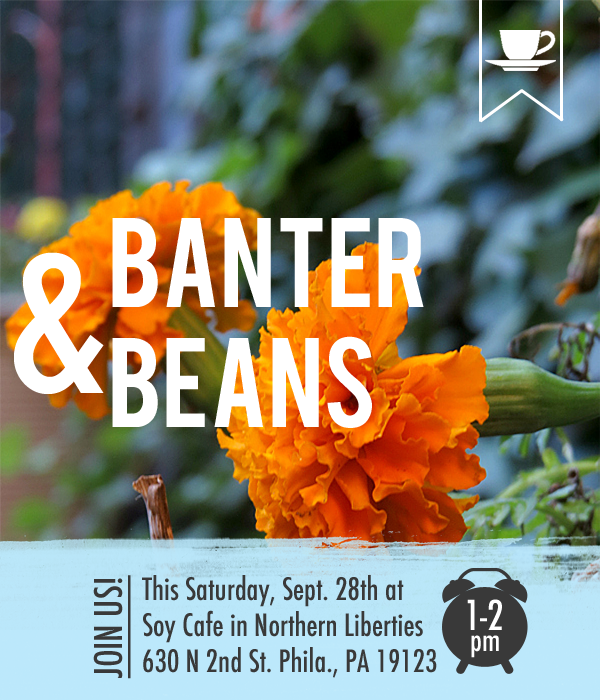 Banter & Beans at Soy Cafe