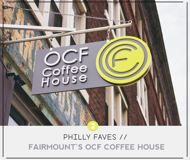 Philly Faves - OCF Coffeehouse | MelissaAlam.com
