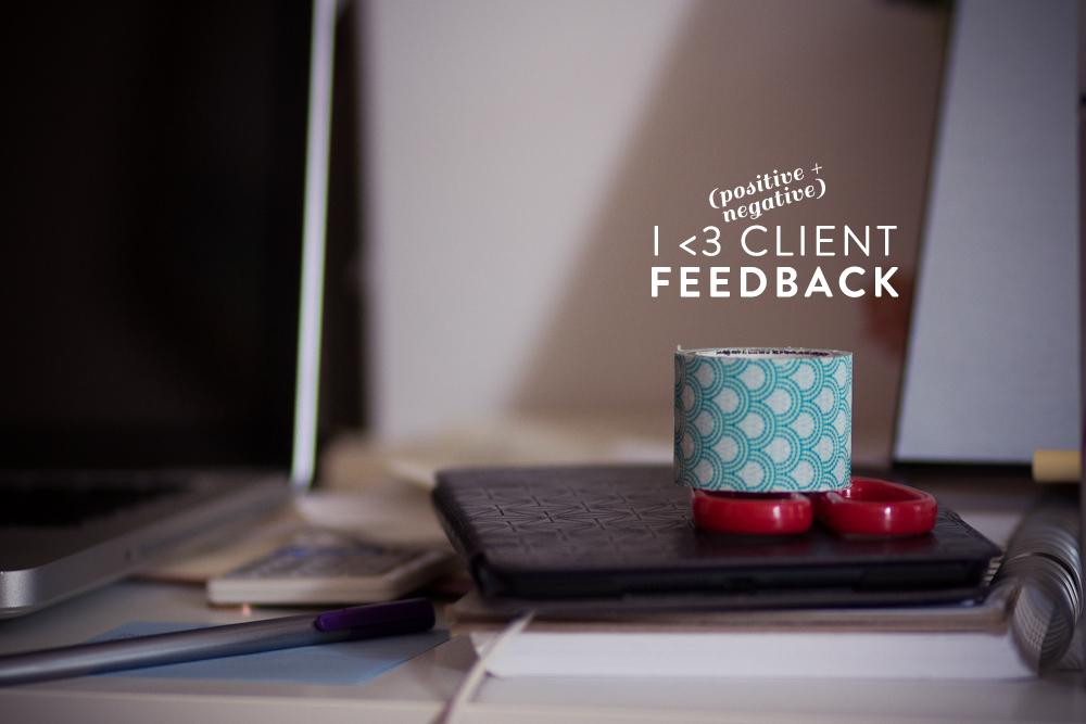 Client Feedback | MelissaAlam.com