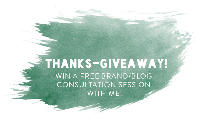 Thanks-Giveaway - Free Brand Consultation