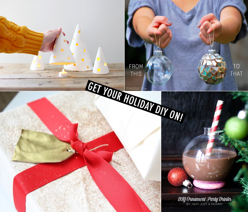4 Holiday DIY Projects