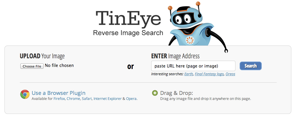 TinEye - How to find the original source for your image