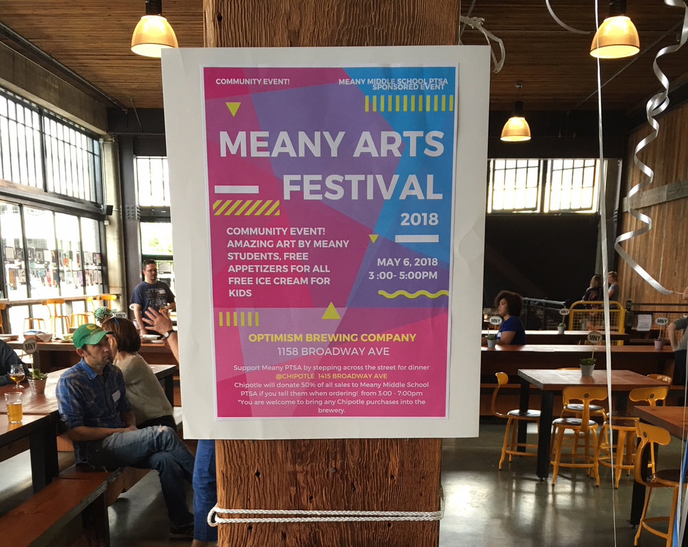 Meany Arts Festival, May 2018. Click image to see more photos.