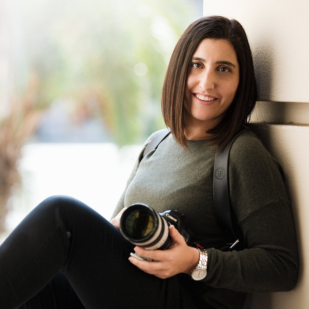 Loreen Sarkis - Photographer & PredecessorA photographer at heart since the age of fourteen, Loreen started out working for her father Sam Sarkis as just an assistant. Throughout the years, she had the chance to learn from both sides of the lens from one of her most influential mentors about what photography was all about. Lessons in lighting, composition, and the professional business side were trades that Loreen was immersed with in both a collegiate setting and a family setting. Under Sam's guidance, she grew up to become his second shooter and since then has been shooting weddings throughout the United States and has become a immense part of her fathers brand, Sam Sarkis Photography.Loreen decided to expand the family's notable Michigan based brand across the country to launch their international brand, Sarkis Studios in Los Angeles.