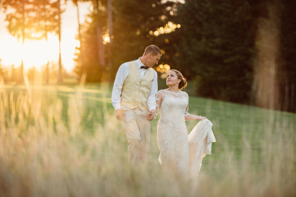 Allison & Joe - Gold Mountain Golf Course