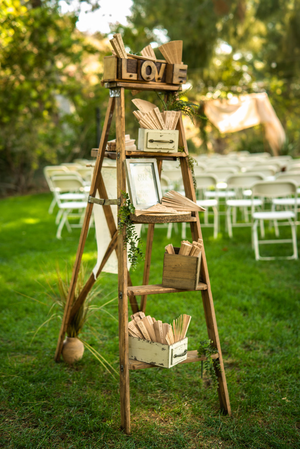Styling & Set-up:  Eyesome Events     |   Signage:  Unshakably Unique     |   Ladder:  Ten Four Decor     |   Photo:   Super Million Visuals