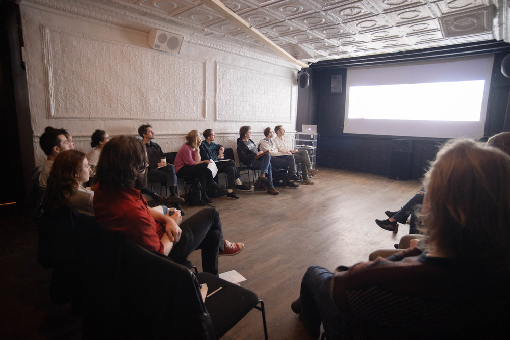 The FilmShop nonprofity community of filmmakers who workshop their scripts, short films, and other types of work.