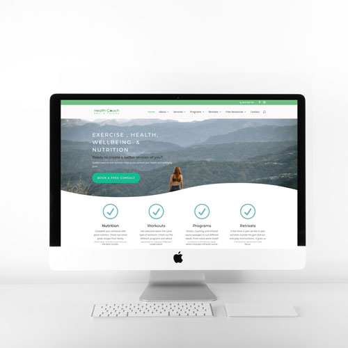 Bounce Fitness website redesign