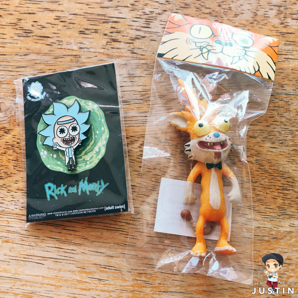 HAUL - TINY RICK PIN AND SQUANCHY