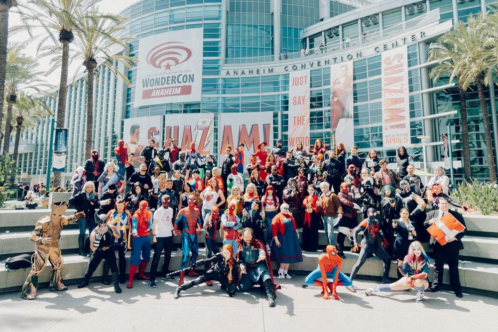 Marvel Cosplay Gathering