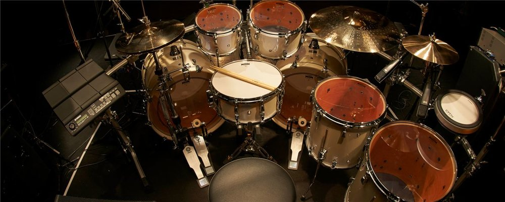 Drums - The rhythm and soul of any band, from delicate pitched percussion to a boomy kick drum, learning how to play these instruments is nothing but fun and a great investment in a musical future.