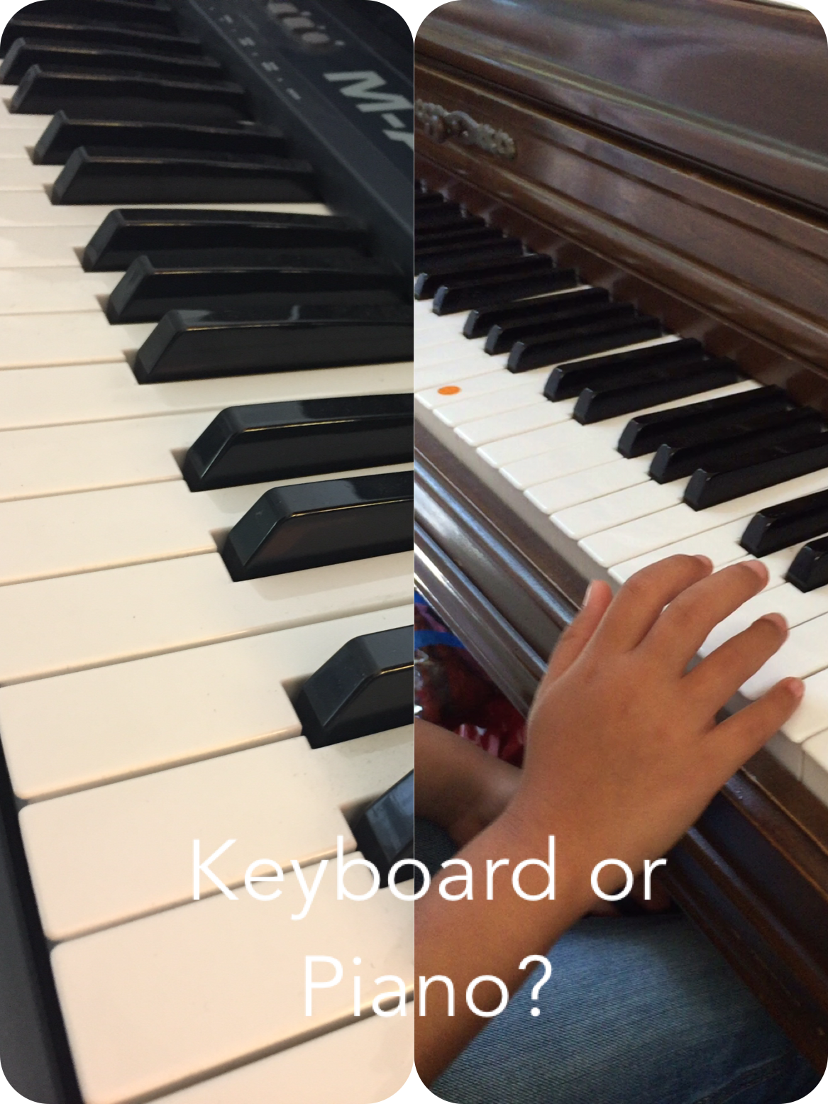357e55838d1 Is it ok to learn piano on a keyboard or digital piano  — Piano ...