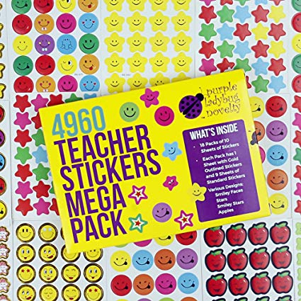Kids. Love. Stickers!
