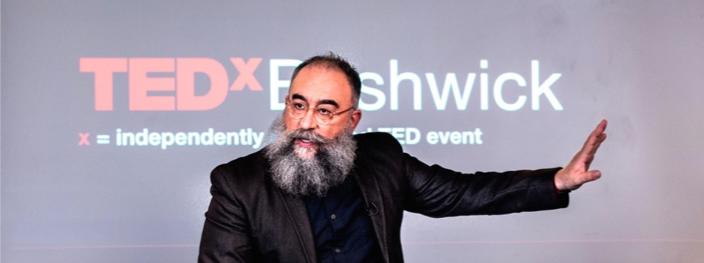 Speakers Hector Marcel, a renowned public speaker, artist, and social entrepreneur