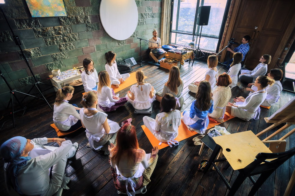 Meditation Discover ways of tuning into the creative flow using traditional and modern meditation techniques
