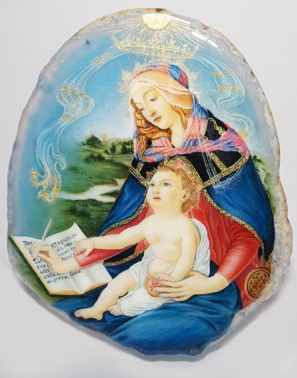 1. Kamennoe-panno-kartina-Bottichelli-Ma donna-Magnifikat-lakovajа-miniatyura_retouched.jpg