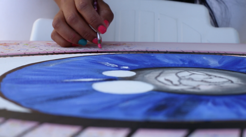 The art of hope Collection of artworks created in a female prison in Mexico