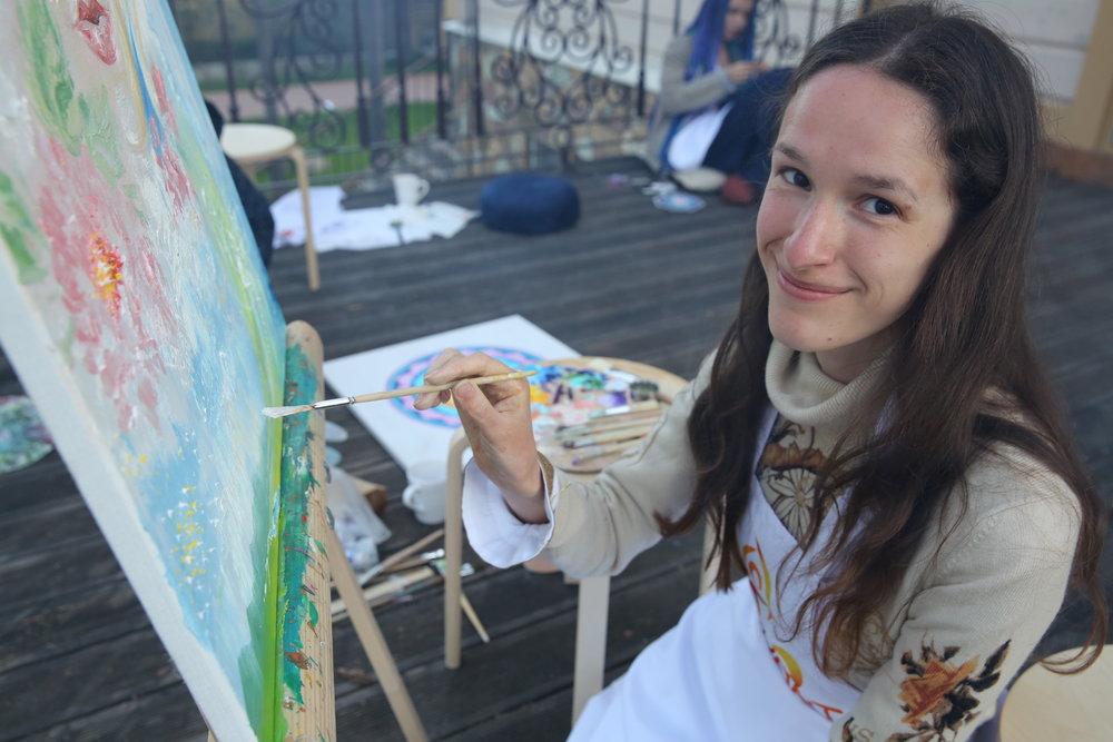 Anna Zimorodok, Moscow, Russia
