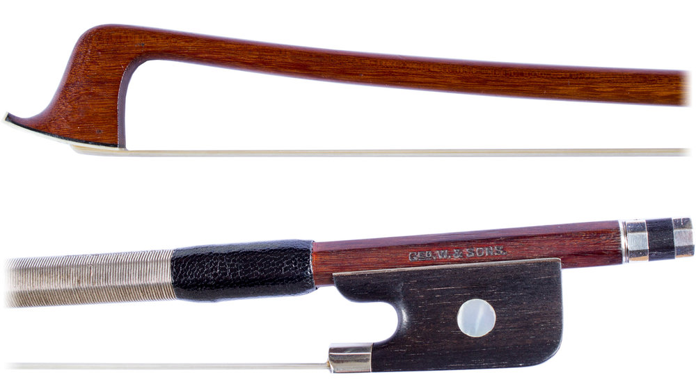 Violin bow by G. Withers