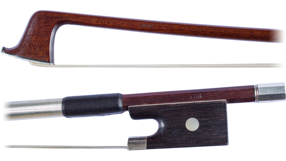 Violin bow by W. E. Hill & Sons