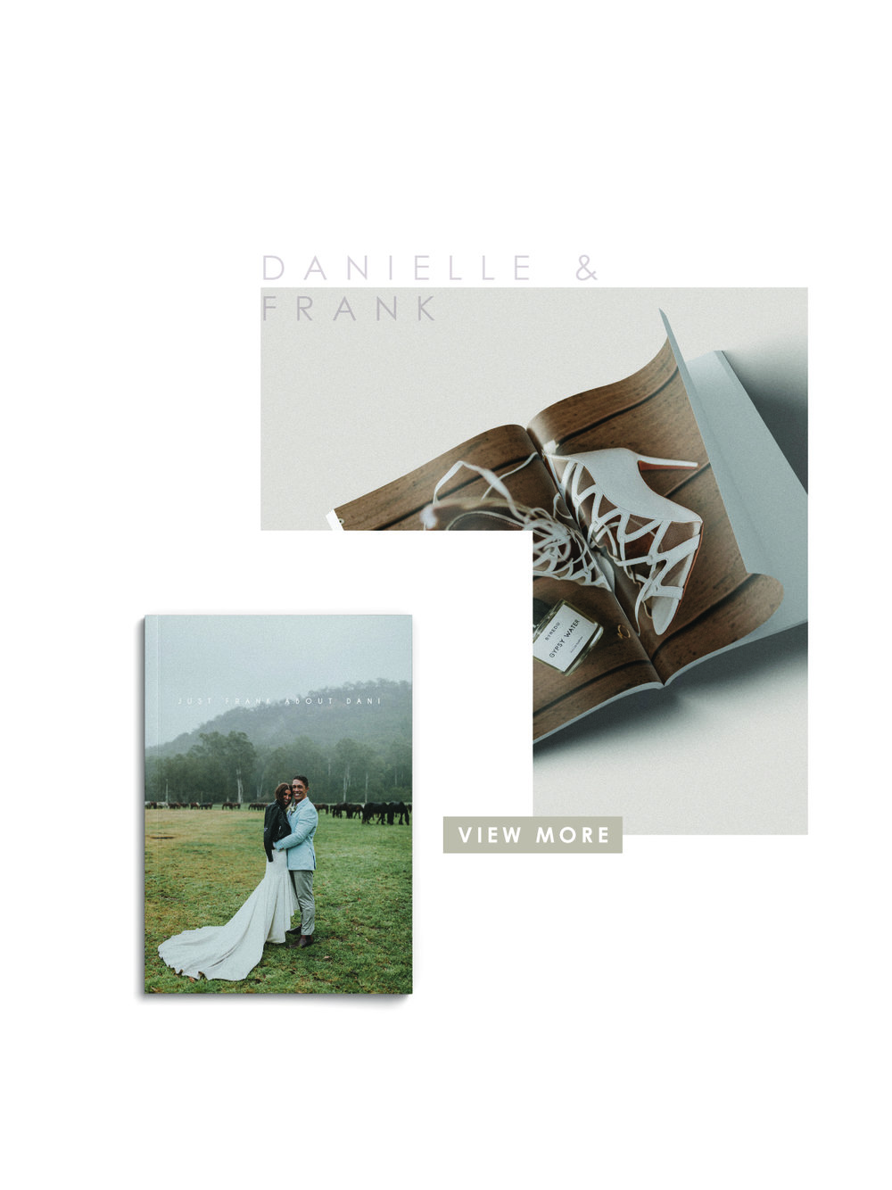 Bow & Arbour Wedding Zine Gallery Danielle & Frank