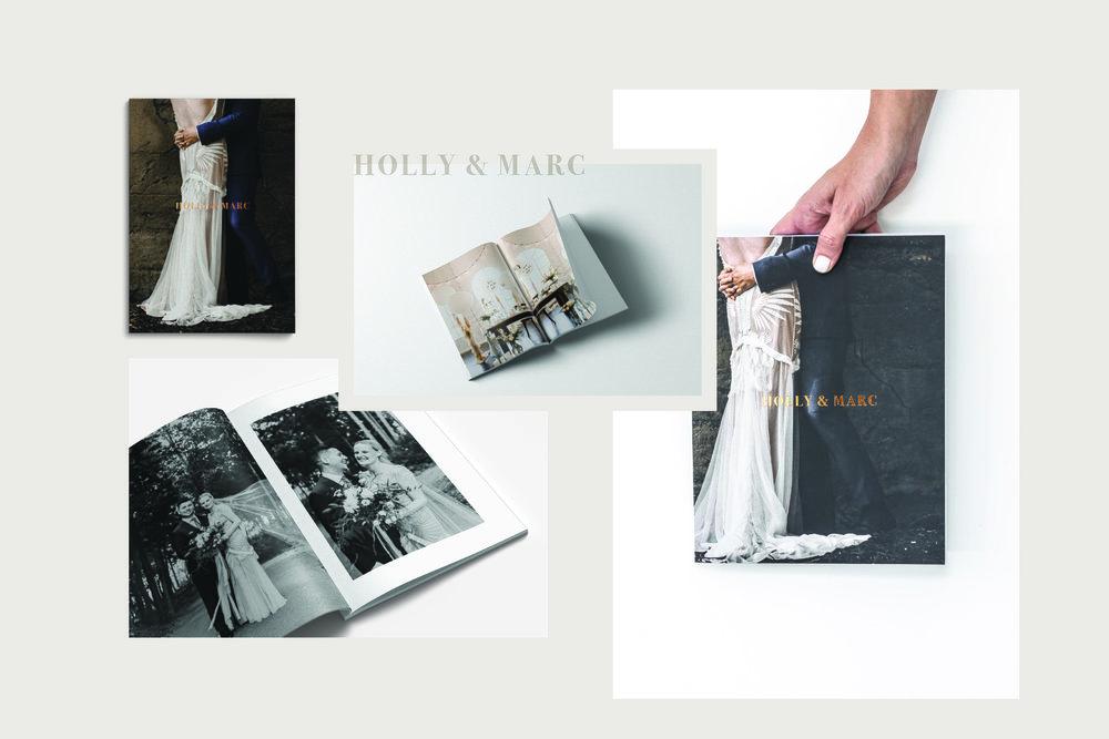 Wedding Zine® Holly & Marc
