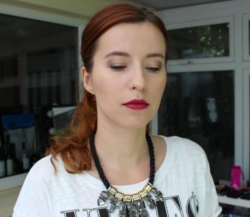 My Autumn Makeup Look (Berry Lips)