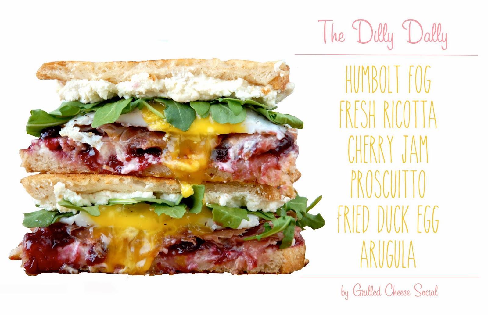 The Dilly Dally Grilled Cheese Social