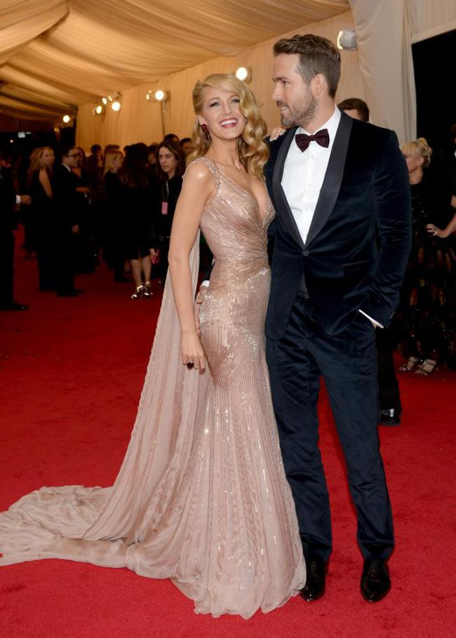 One Half of Cutest Couple, Blake Lively in Gucci