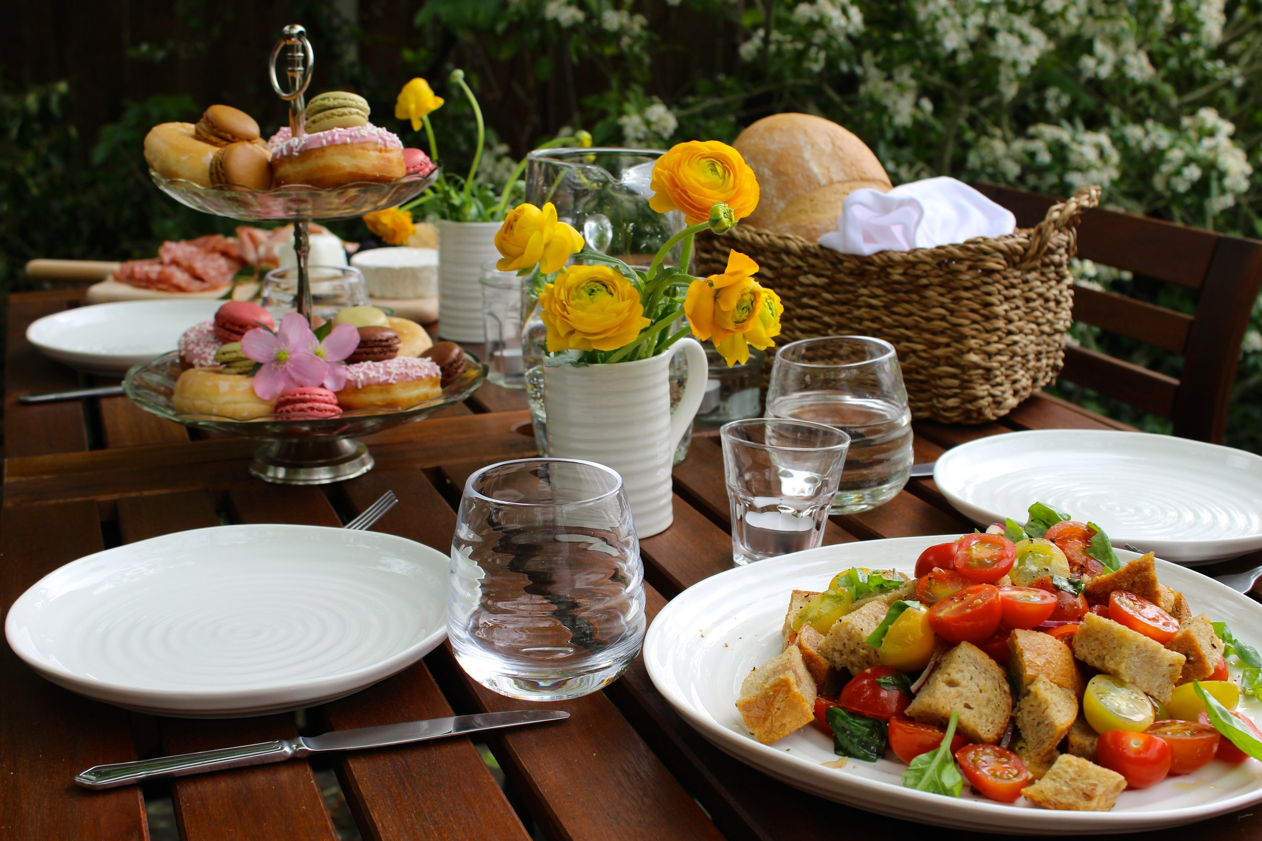 Summer Garden Lunch