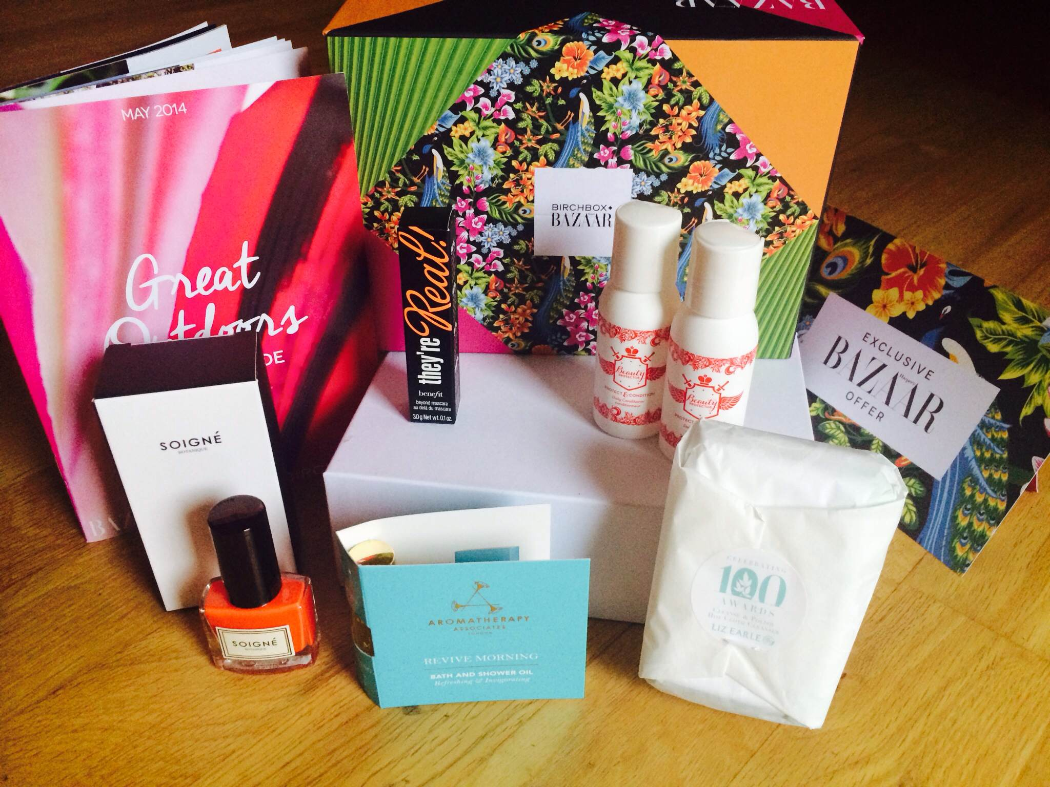 Harper's Bazaar do Birchbox this May