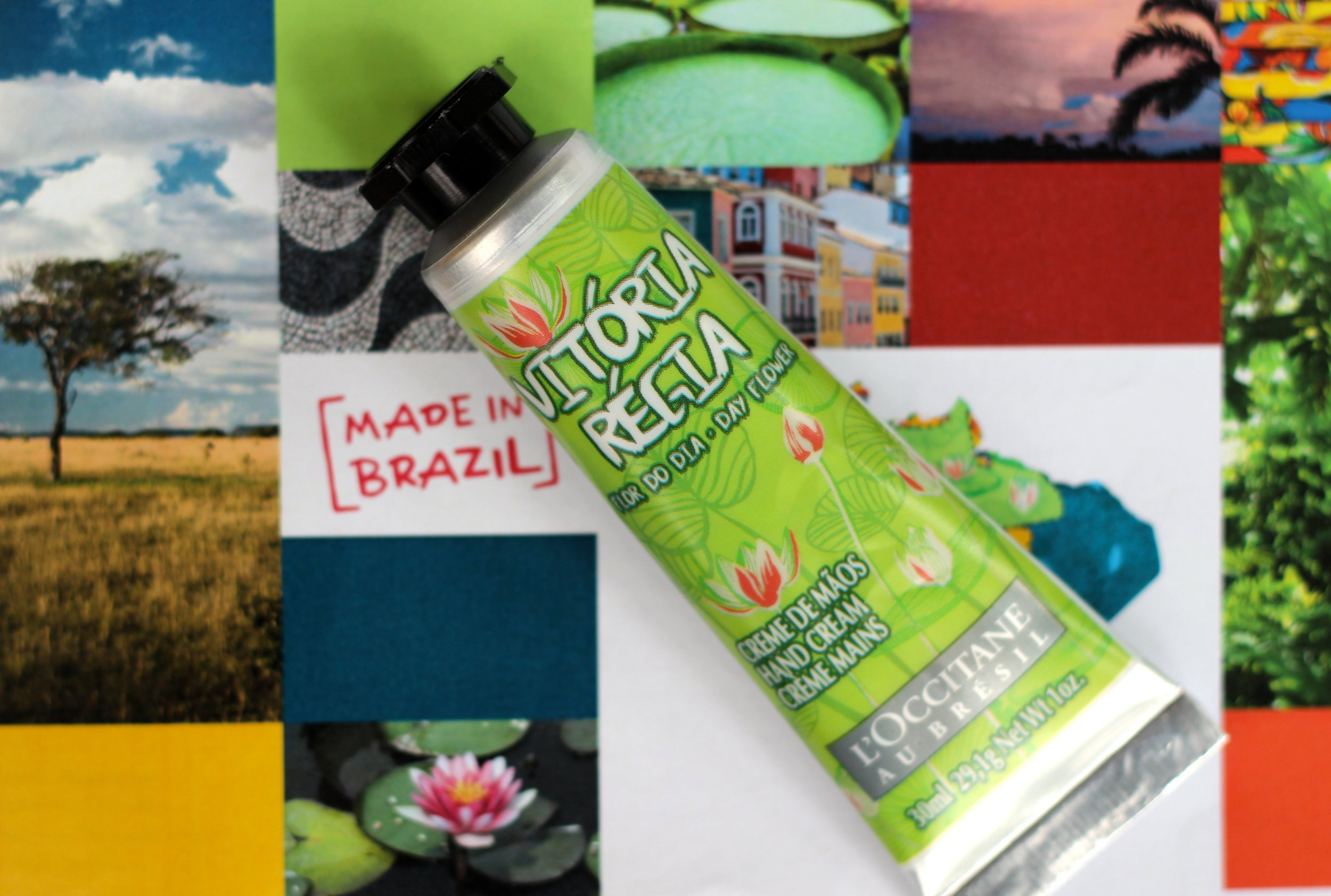Vitória Régia Day Flower Hand Cream
