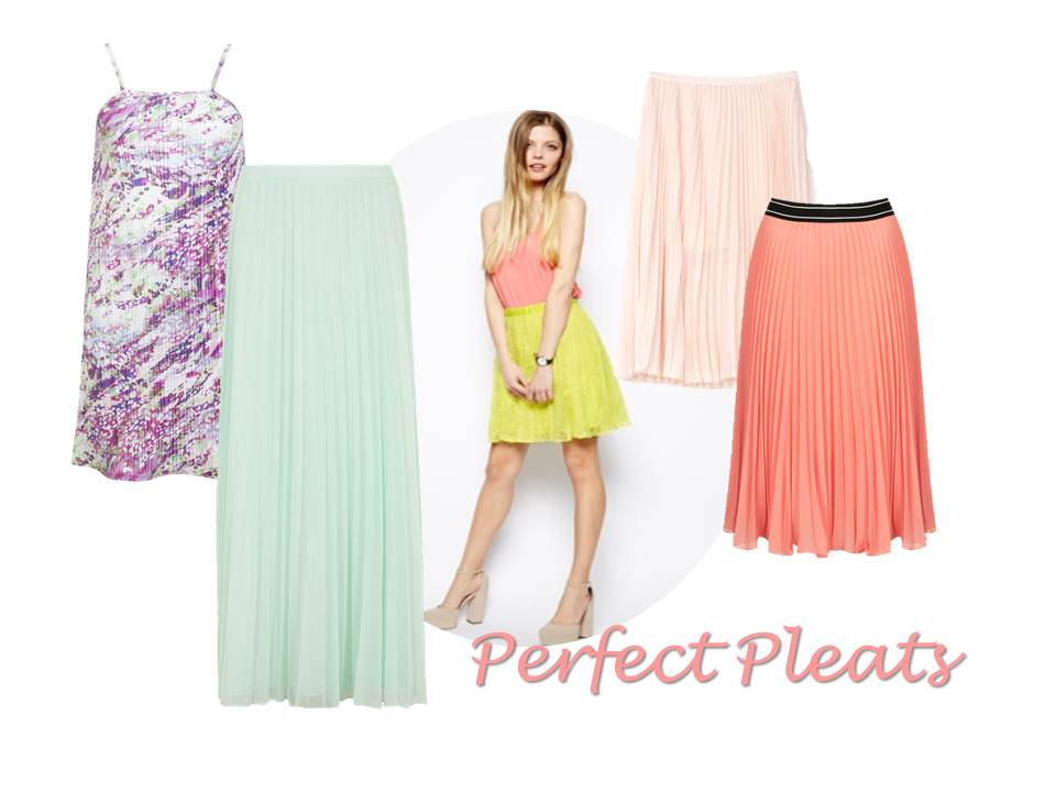 Perfect Pleats for Summer