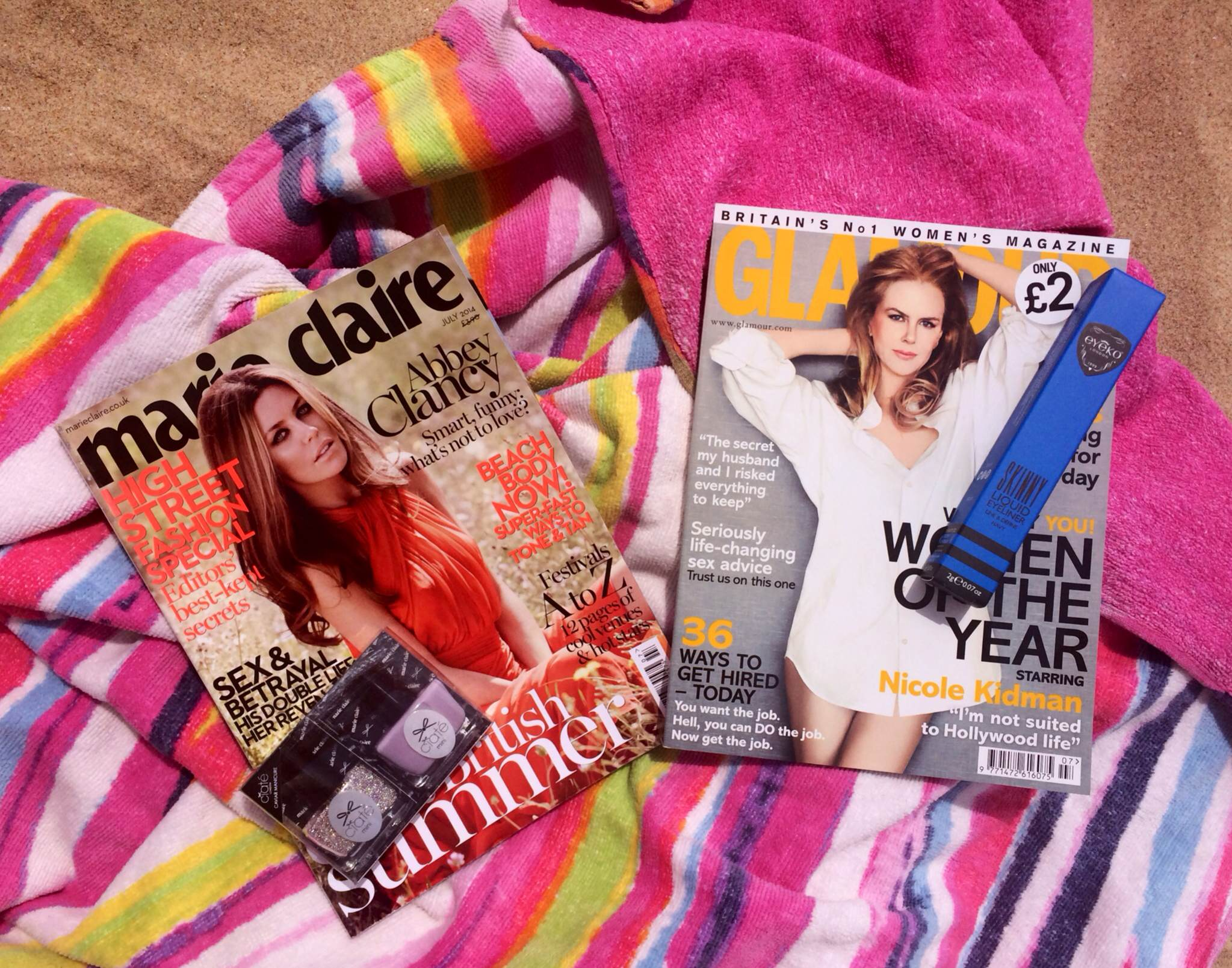 June magazine freebies