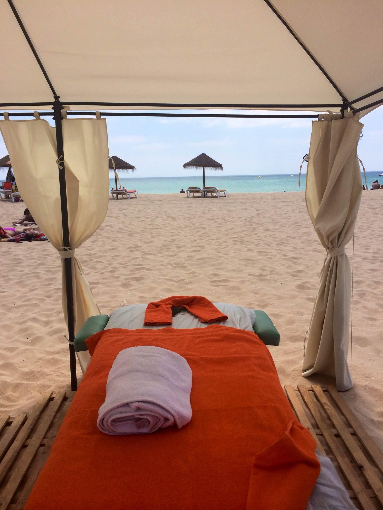 Ultimate Relaxation Beach Massage