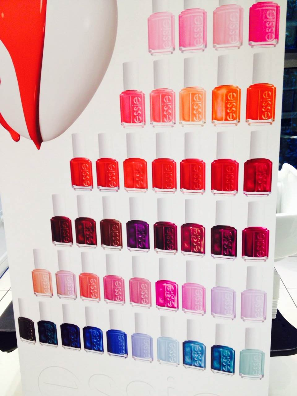 Essie's Gorgeous Nail Colours