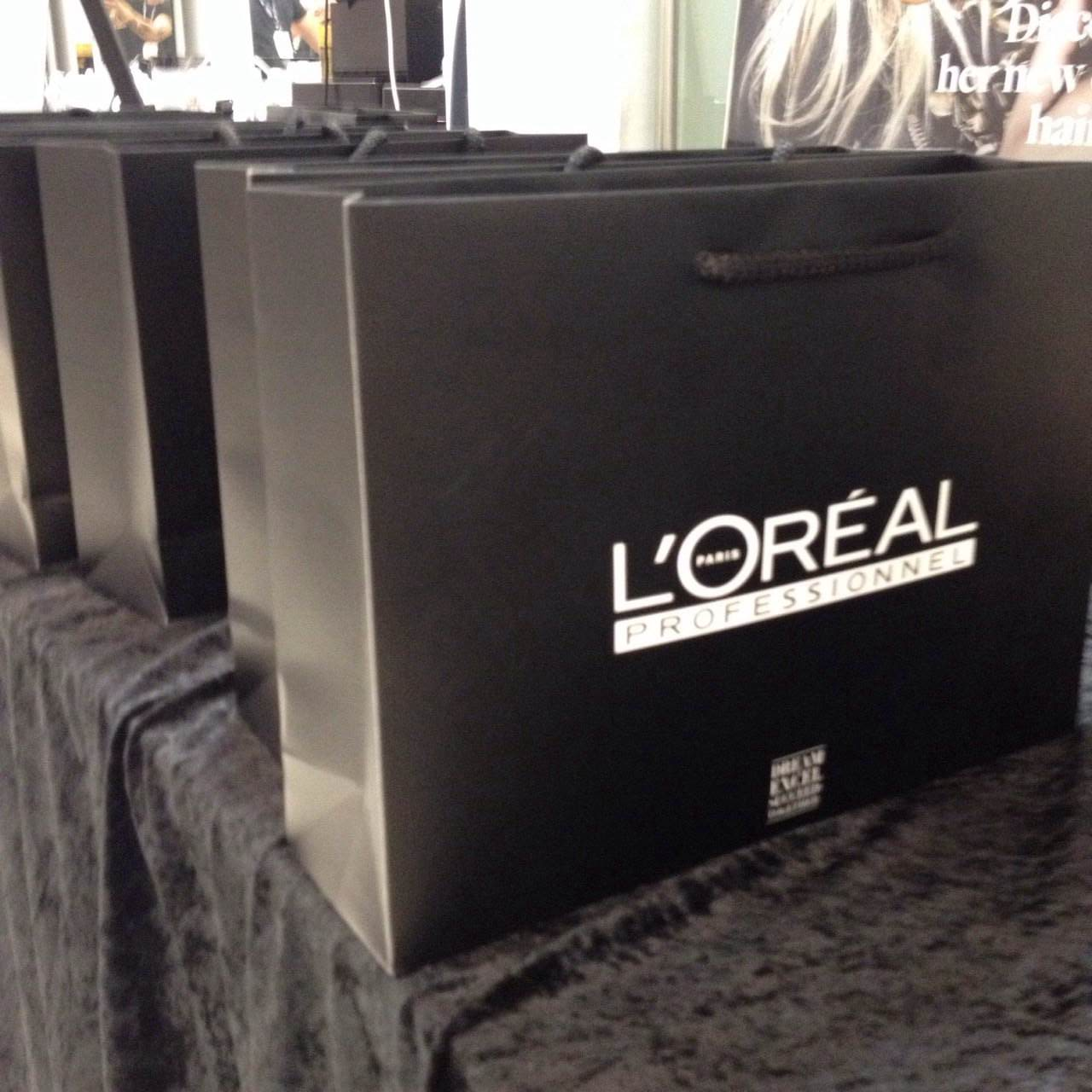L'Oreal goodies for the road