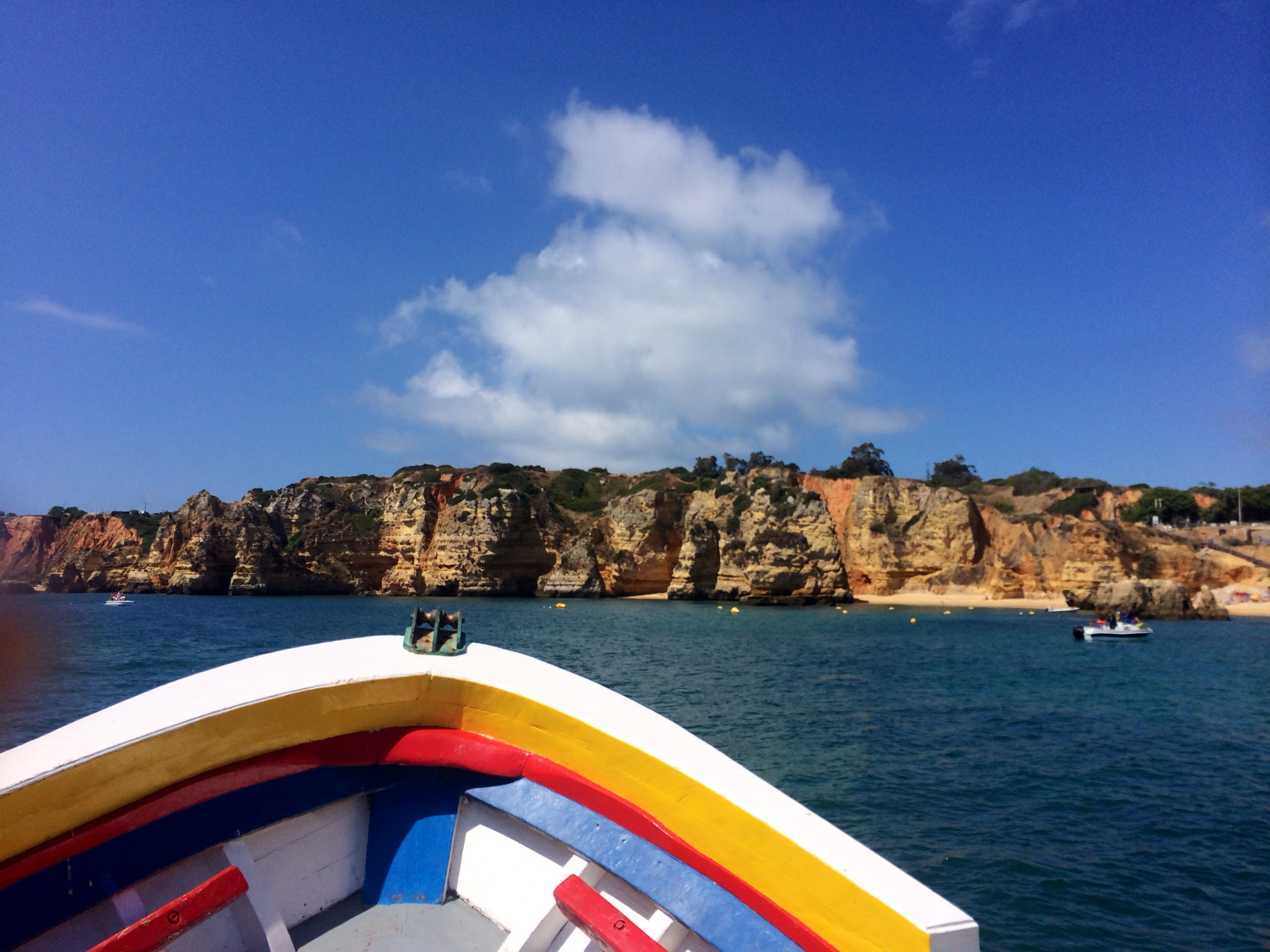 Sailing to the Caves