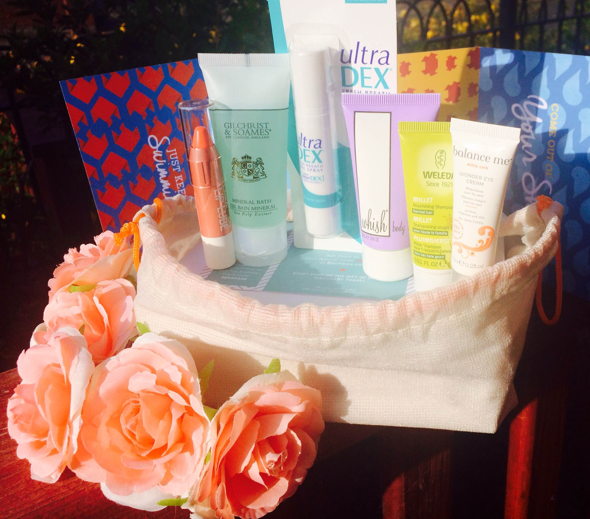 My July Birchbox: Sun, Sea & Sand