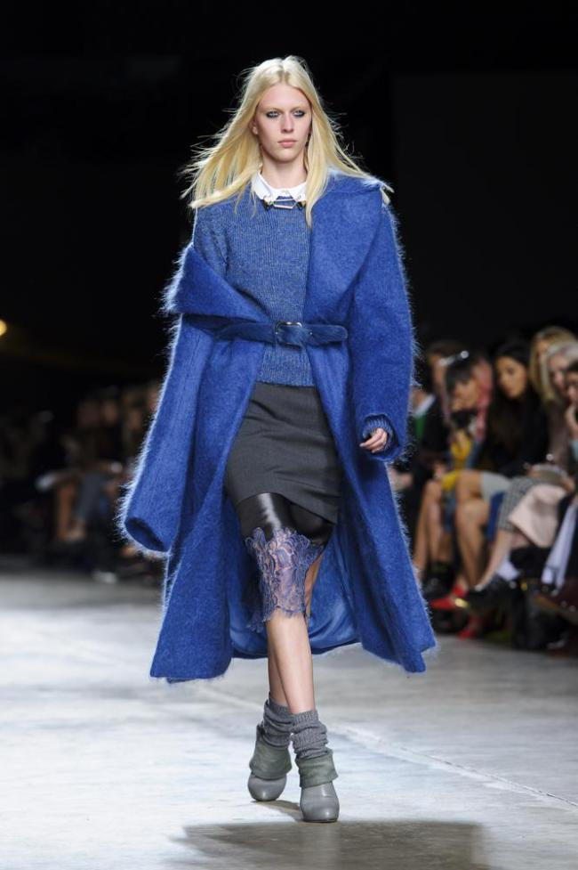 AW14 Top Trends Blue is back with Topshop