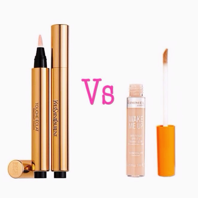 Beauty Dupe: YSL Touche Éclat V's Rimmel Wake Me Up Concealer