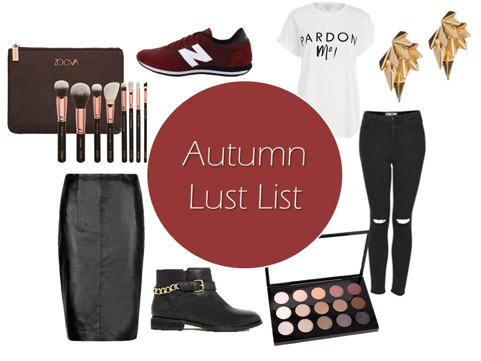 Autumn Lust List