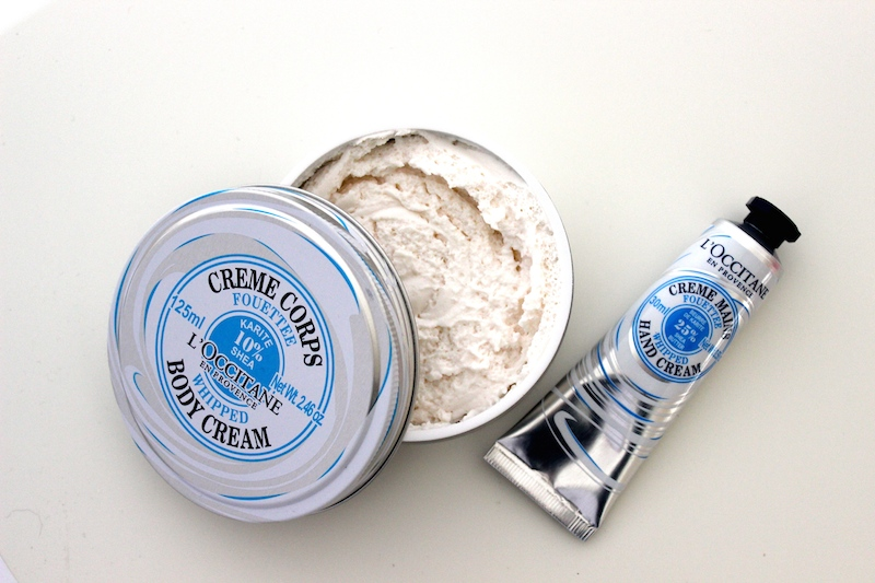 The lightest of light moisturisers! L'Occitane Whipped Shea Butter